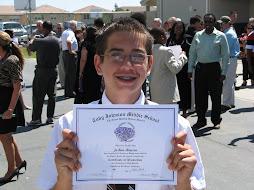 Josh's 8th Grade Promotion