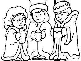 Preschool Christian Christmas Coloring Sheets
