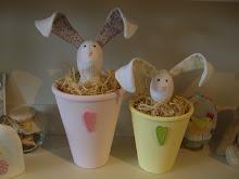 Flower Pot Hares