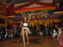 Miss Transformista Gay El Alto 2008