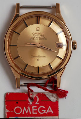 Omega Constellation NOS Pie Pan