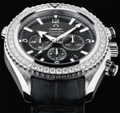 Omega Planet ocean diamond bezel chronometer