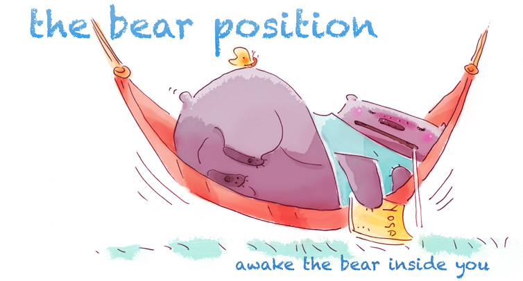 the bear position