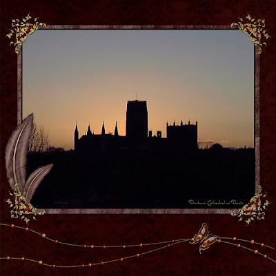 Даремский Замок на Закате (Durham Cathedral at Dawn)