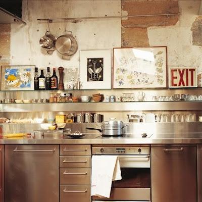 mrs boho cocinas industriales con aire bohemio ii parte. Black Bedroom Furniture Sets. Home Design Ideas