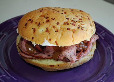 Cajun Pit Beef Sandwiches