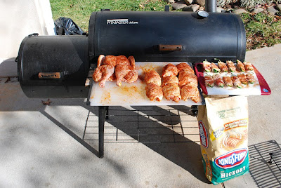 How I Smoke Chicken On My Cheap Offset Smoker Brinkmann