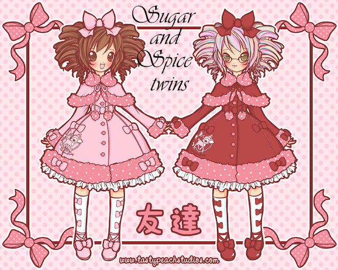 Sugar and Spice twins