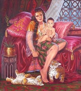 A verdadeira Mãe Cigana