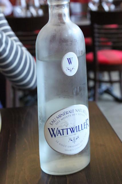 wattwiller water from les vosges, la regalade, paris