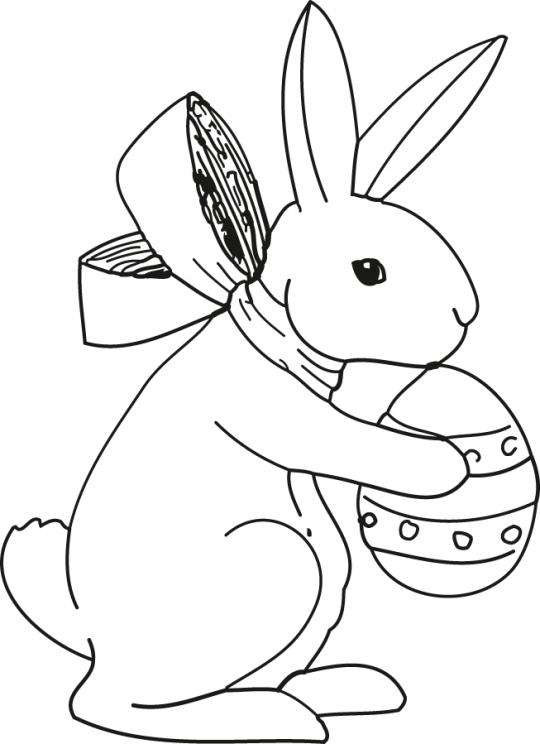 Pz c dessin soleil - Image lapin de paques ...