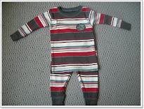 Red + Grey Stripes