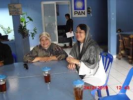 Bersama Bu Asiyah Rais di KS