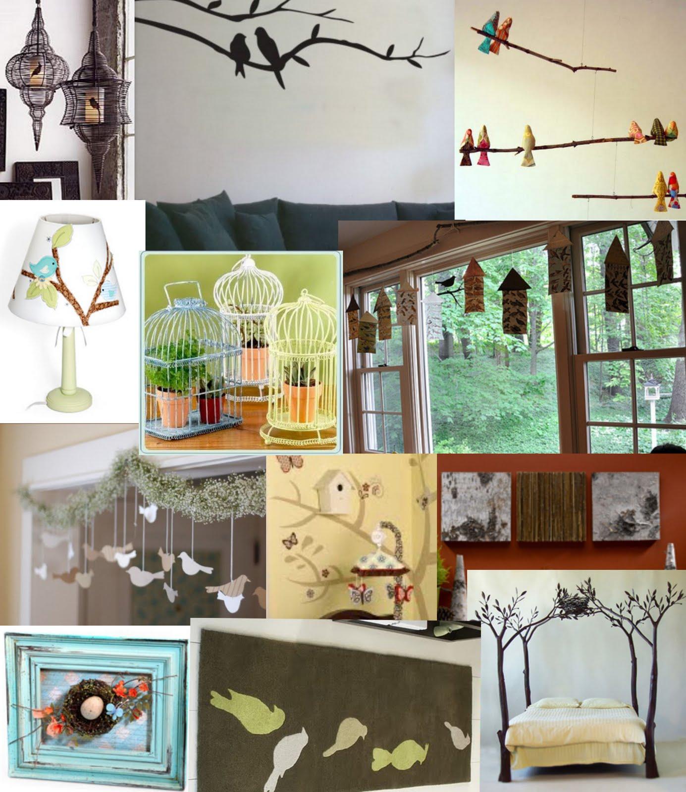 Night owl notions love bird bedroom inspirations for Birdcage bedroom ideas