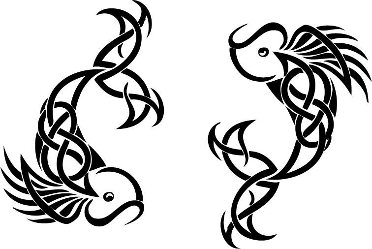 Pisces Zodiac Tattoos