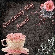 My First Blog Award... Thank you!