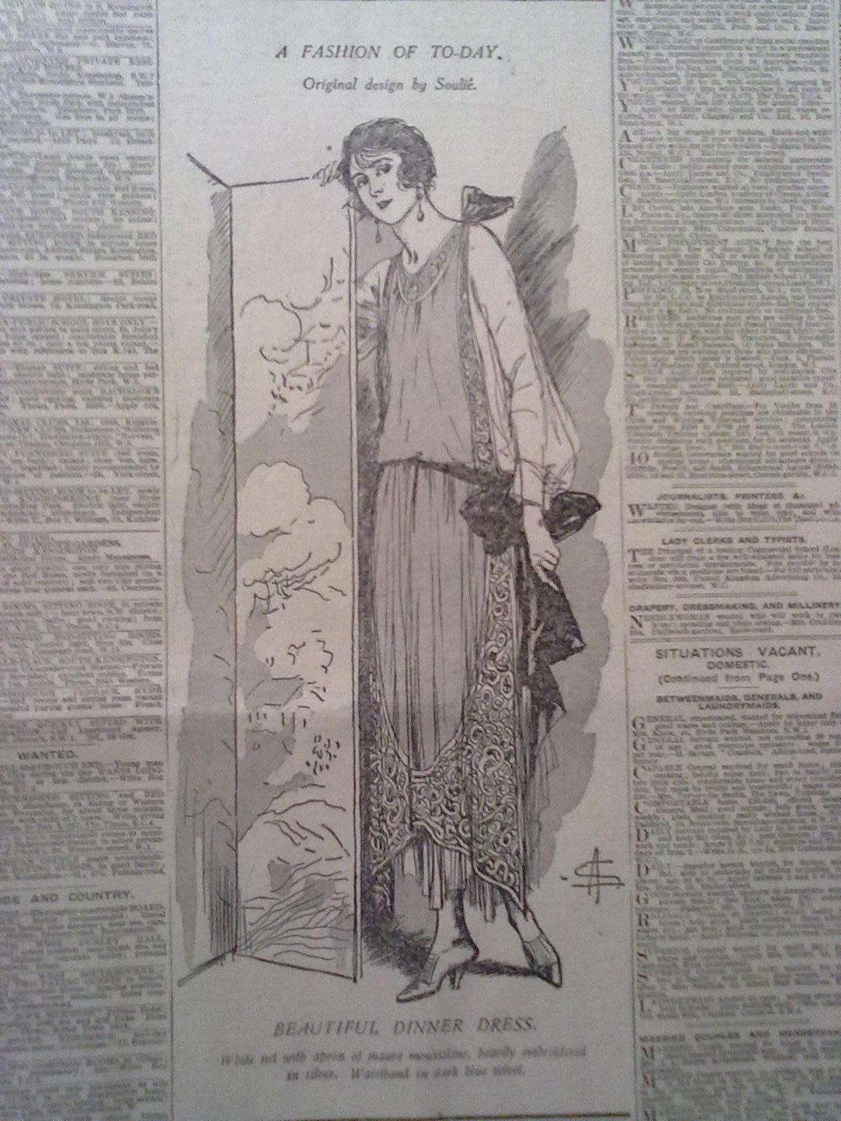 the 1920s fashion essay