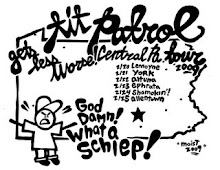 "Tit Patrol - ""Central PA Gets Less Worse"" T-Shirt By Moist *Sold Out*"