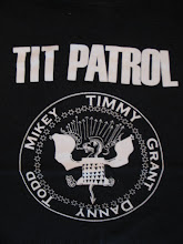 "Tit Patrol - ""Ramones"" T-Shirt by Toddy"