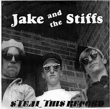 "Jake and the Stiffs - ""Steal This Record"" 7"""