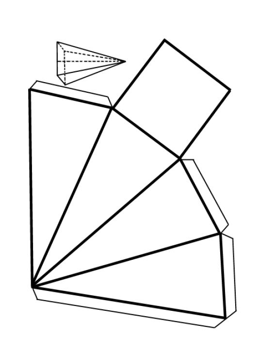 Dibujos de prismas y piramides - Imagui