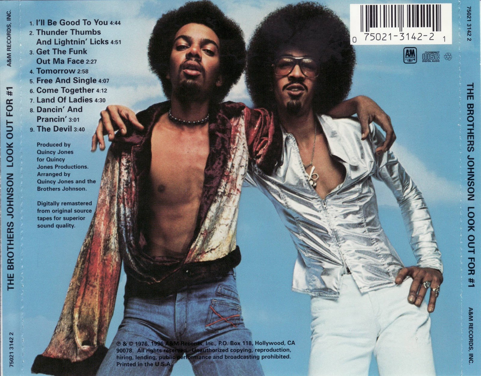 Brothers Johnson Dancin' Free