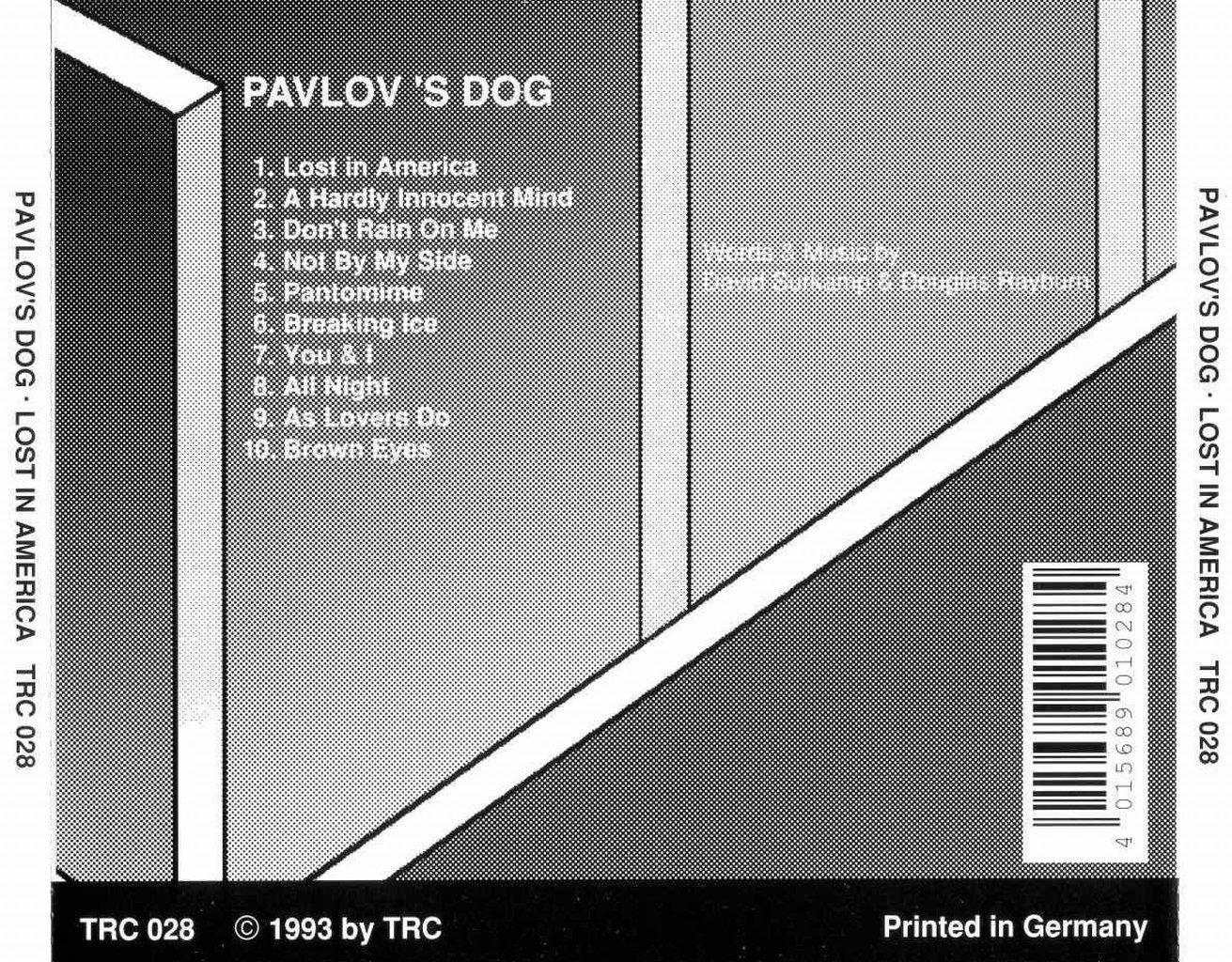 Pavlov S Dog Lost In America