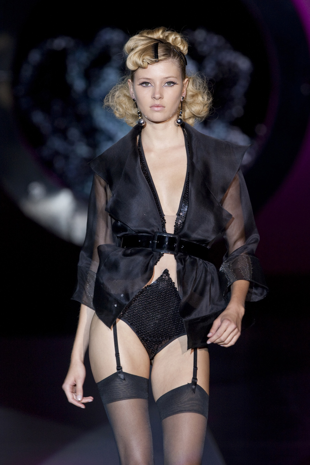 Andres Sarda Runway For Spring 2010 Frou Frou Fashionista Luxury Lingerie Blog For Faire