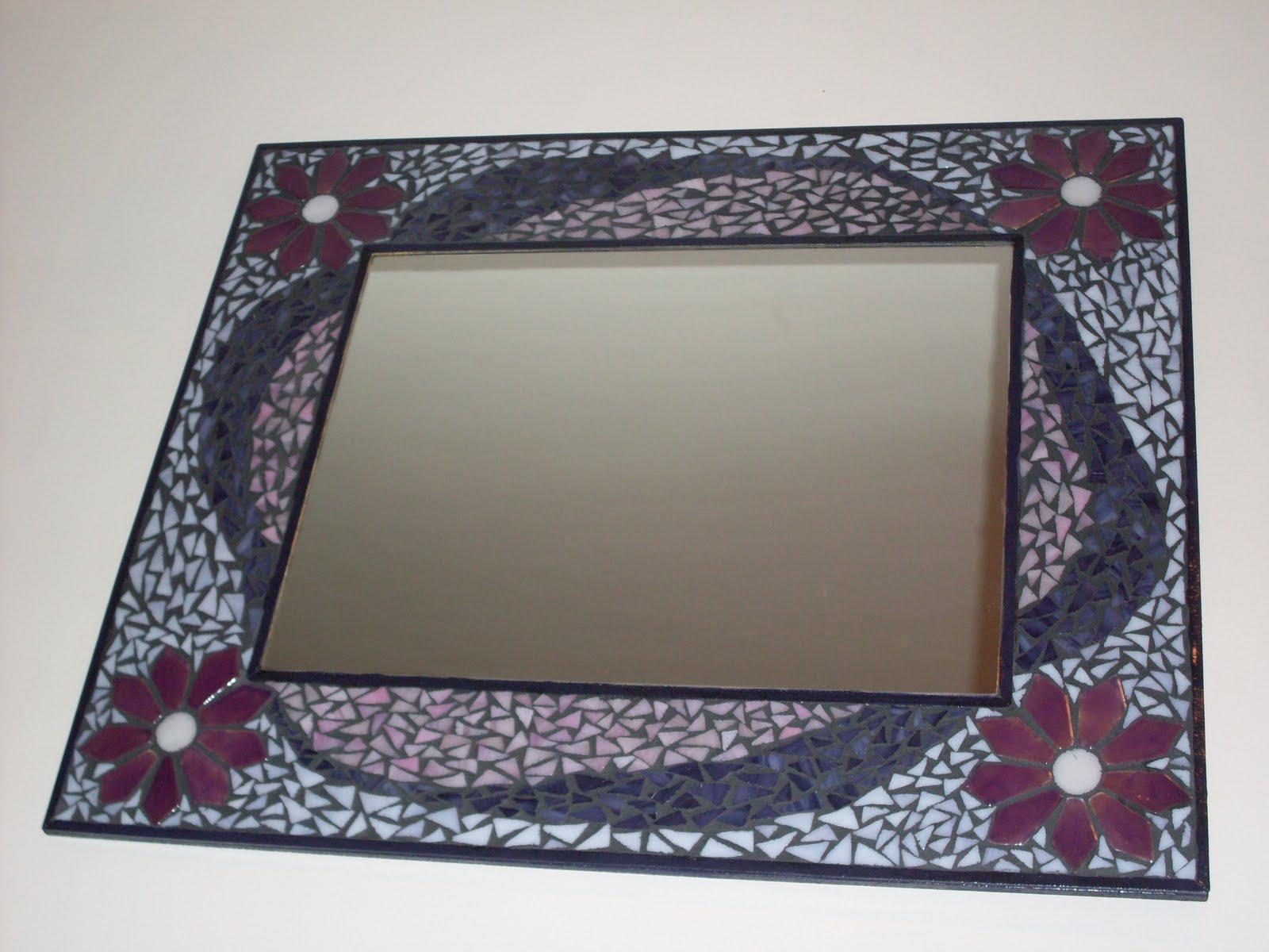 espejos con mosaicos