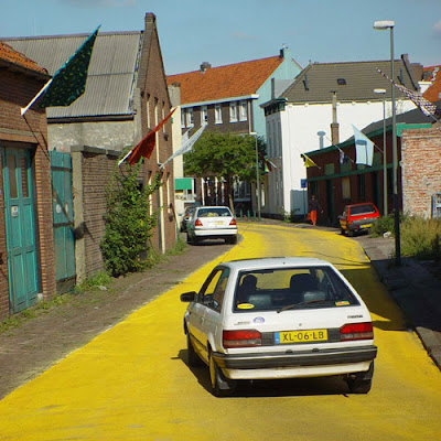 Colorful places in the Netherlands