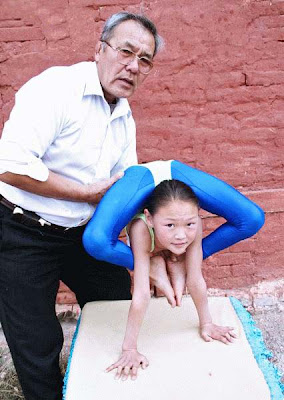 Chinese gymnasts