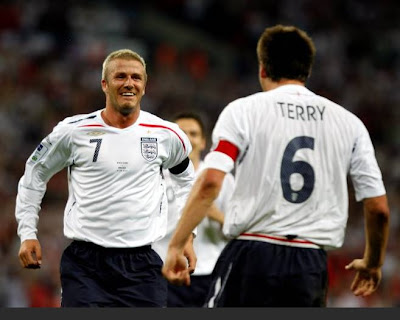 David Beckham Back