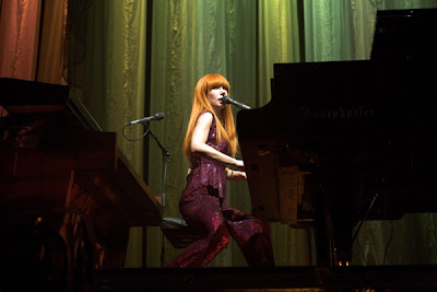 Tori Amos. Concert at the Heineken Music Hall, Amsterdam