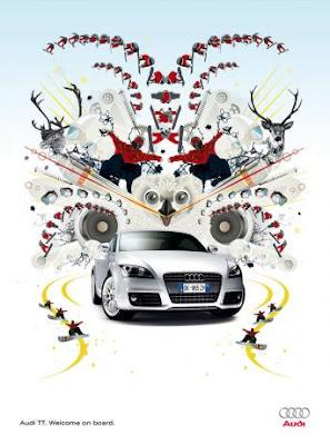 Audi TT Quattro ads