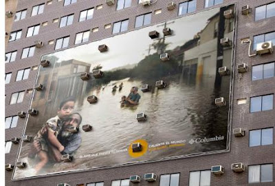 Outdoor advertising - Columbia