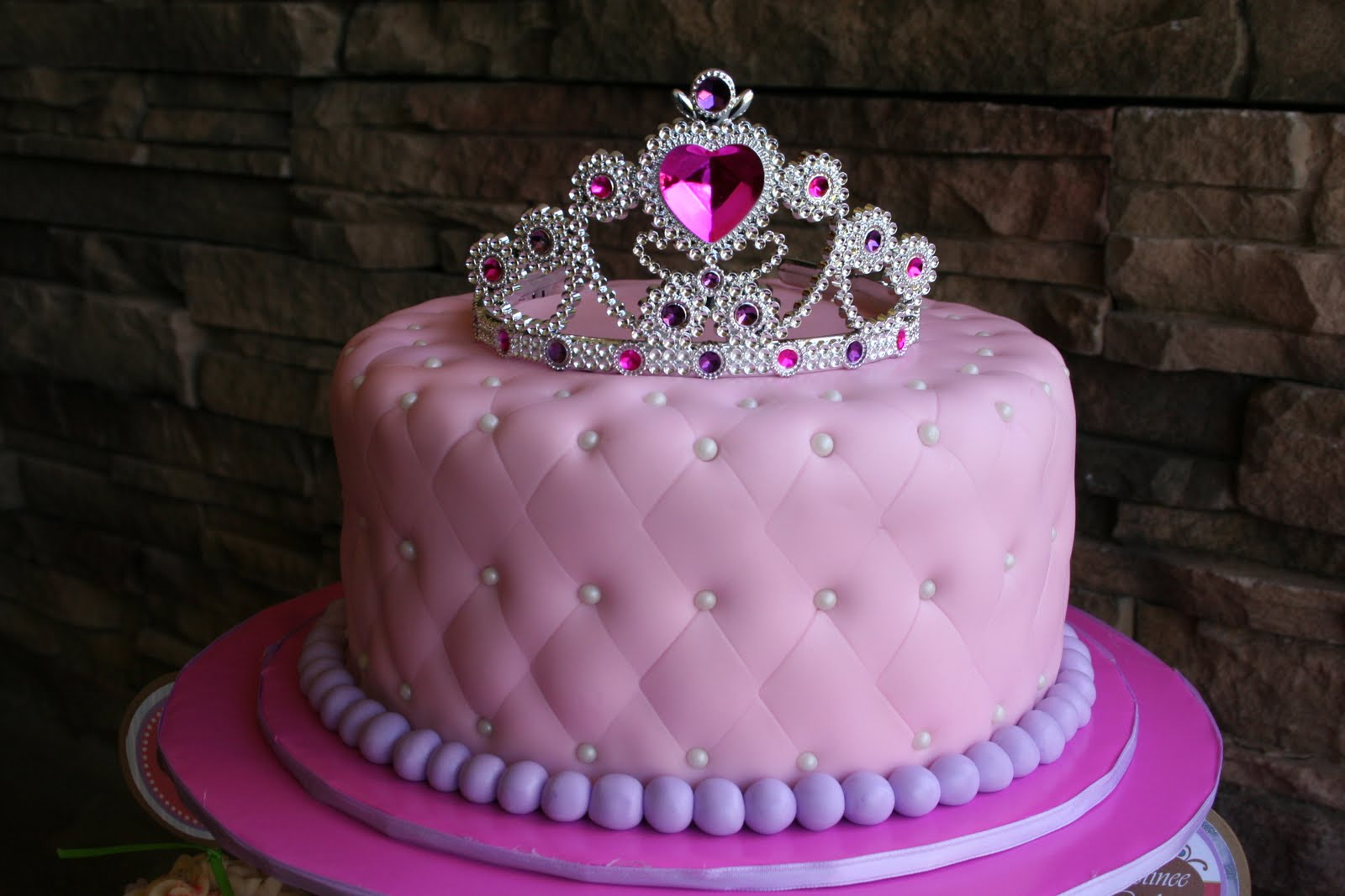 Cakes by narleen kristel a princess 39 1st birthday for 1st birthday cake decoration
