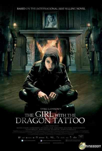 Movie name : The Girl with the Dragon Tattoo