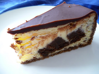 Family, Food, and Fun: Brownie Mosaic Cheesecake