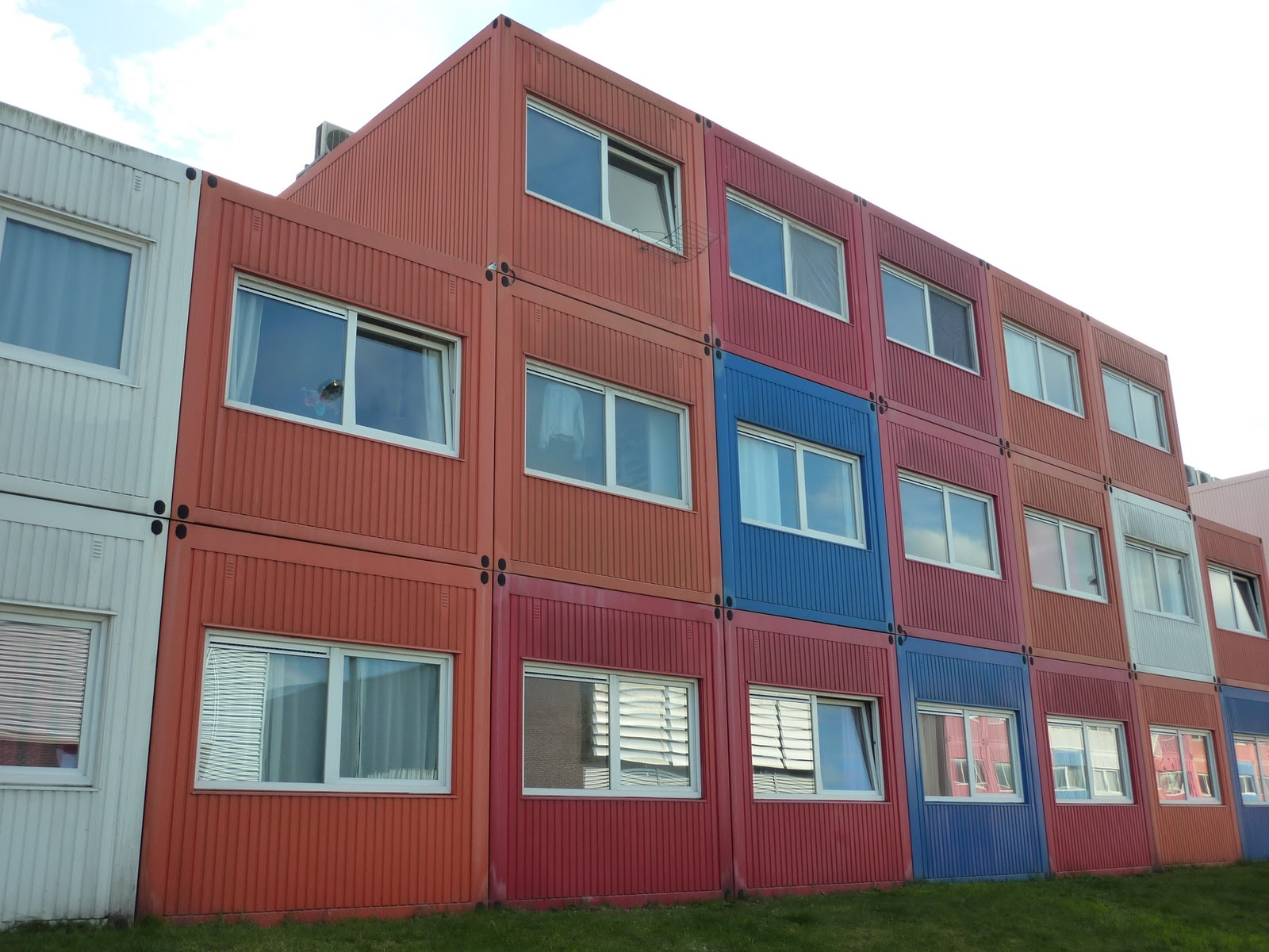 Greetings from holland shipping container houses amsterdam noord - Container homes london ...