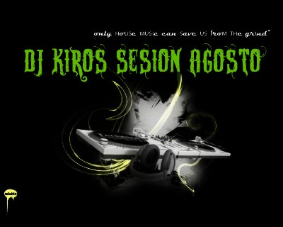 Dj kiros for House music symbol
