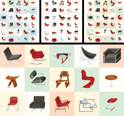 Dude Craft: Mid-Century Modern Chair Poster