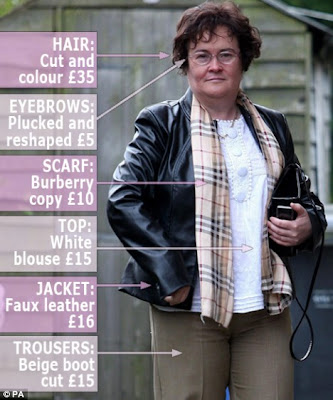 Britain's Got Talent star Susan Boyle new Makeover