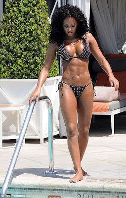 Stunning Mel B hot bikini photo