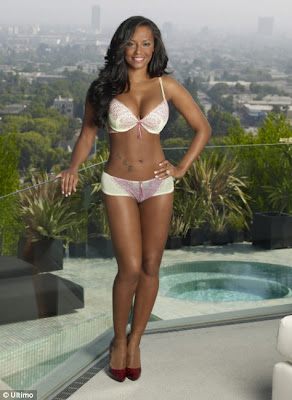 Mel B Looks Sizzling Hot in Ultimo Lingerie Photo Shoot