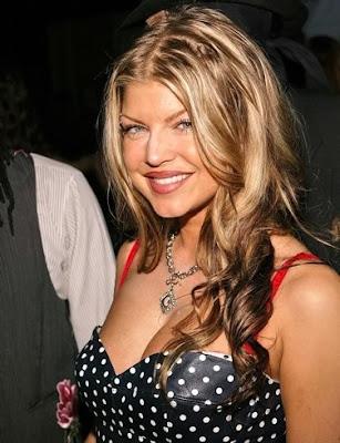 hot Fergie,Black Eyed Peas Star