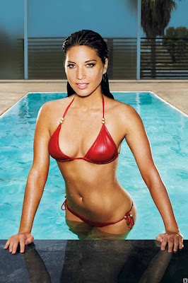 Hot Olivia Munn topless  Playboy Pictures