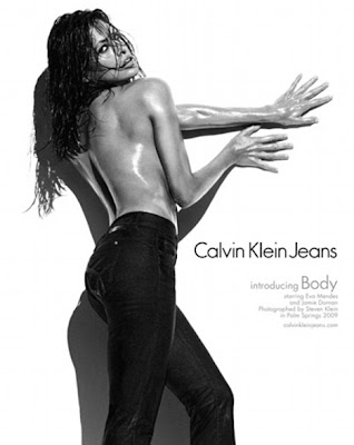 Eva Mendes Strips off for Semi-nude Photoshoot in Calvin Klein Ad