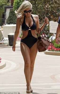 Gemma Merna Sizzles in Sexy Swimwear