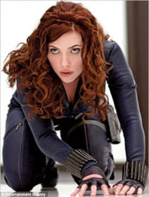 Scarlett Johansson Sizzles as Black Widow In Iron Man 2