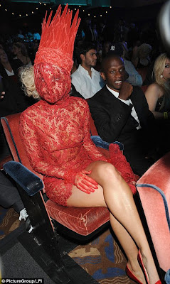Lady GaGa Sizzles in hot Outrageous Outfits at MTV VMAs